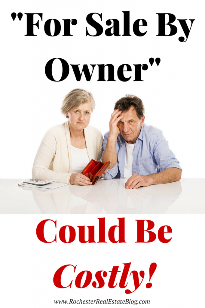 Selling For Sale By Owner Can End Up Costing a Seller Thousands of Dollars